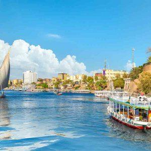 Cityscape of Aswan
